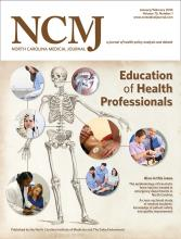 North Carolina Medical Journal: 75 (1)