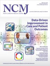 North Carolina Medical Journal: 75 (3)