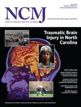 North Carolina Medical Journal: 76 (2)