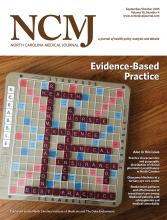 North Carolina Medical Journal: 76 (4)