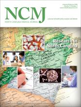 North Carolina Medical Journal: 77 (1)