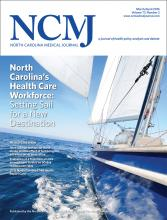 North Carolina Medical Journal: 77 (2)
