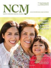 North Carolina Medical Journal: 77 (6)