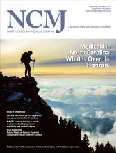 North Carolina Medical Journal: 78 (1)