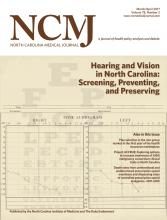 North Carolina Medical Journal: 78 (2)