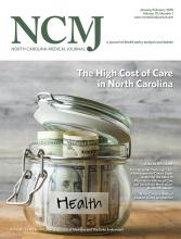 North Carolina Medical Journal: 79 (1)