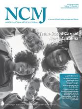 North Carolina Medical Journal: 79 (4)