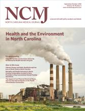 North Carolina Medical Journal: 79 (5)
