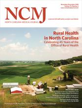 North Carolina Medical Journal: 79 (6)