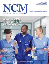 North Carolina Medical Journal: 80 (3)