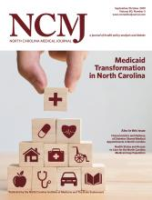 North Carolina Medical Journal: 80 (5)