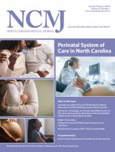 North Carolina Medical Journal: 81 (1)