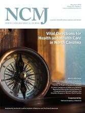 North Carolina Medical Journal: 81 (3)