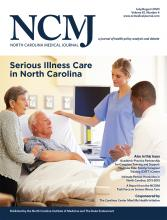 North Carolina Medical Journal: 81 (4)