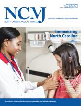 North Carolina Medical Journal: 82 (2)